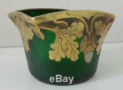 1900 1925 LEGRAS MONT JOYE small Vase art nouveau