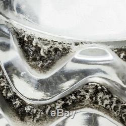 A Fine Rene Lalique Glass Meandres Vase Designed 1934