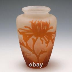 A Galle Cameo Glass Vase 1906-14