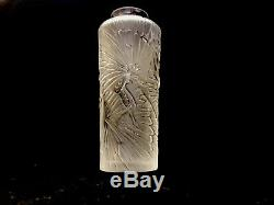 A Lalique Sylph Bud Vase