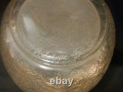 A SUPERB and EXTREMELY RARE Lalique good sized vase. Designed 1926