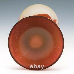 An Emile Galle Cameo Vase c1900