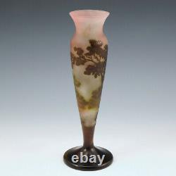 An Emile Galle Landscape Vase c1900