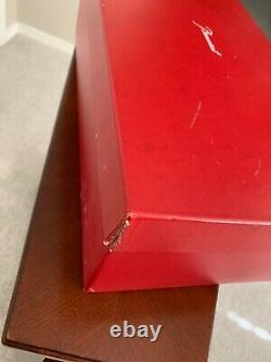 BACCARAT Crystal Diva Vase #1791495 With Box French Beauty