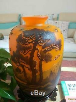 BIG Emile Galle vase