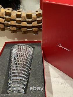 BRAND NEW Baccarat Crystal Eye Vase 9