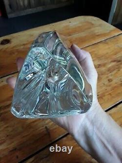 Baccarat 12 Tall Crystal Vase