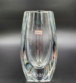 Baccarat Bouton D'Or Crystal Vase 8