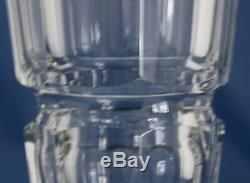 Baccarat Crystal Edith Flower Vase 9 7/8 Made in France