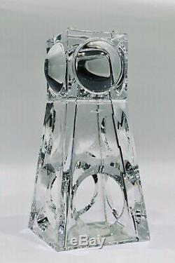 Baccarat Crystal Grand Geode Vase MINT Condition