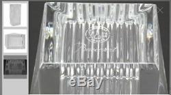 Baccarat Crystal Louxor Small Clear Vase Thomas Bastide MIB