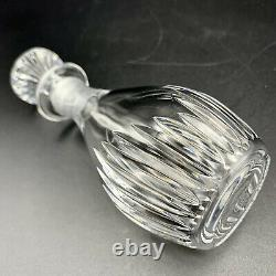 Baccarat Crystal Massena Mini Whiskey Decanter / Cruet / Perfume Bottle / Vase