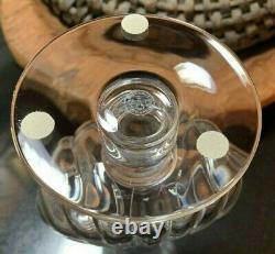 Baccarat Crystal Primevere 8 1/2 Footed Vase France Pristine