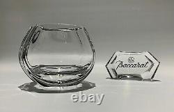 Baccarat Crystal Rose Bowl