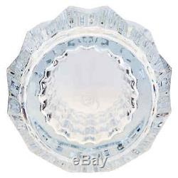 Baccarat Crystal Round Louxor Vase Clear
