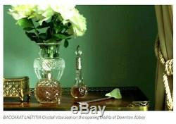 Baccarat Crystal Vase Laetitia, Museum Collection Edition