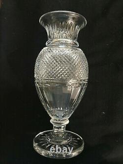 Baccarat Diamant Baluster Cut Crystal Vase Thomas Bastide Design