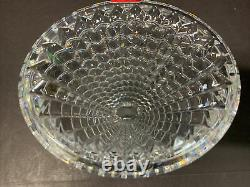 Baccarat Eye Art Glass Heavy Crystal Vase Round Vase NEW OLD STOCK 6 TALL