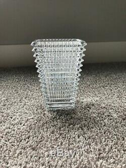 Baccarat Eye Vase Small 8in
