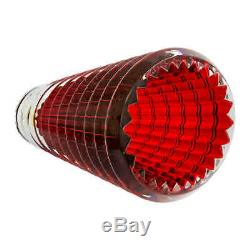 Baccarat Eye Vase Small Red