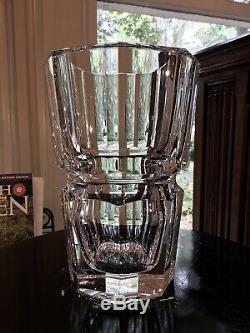 Baccarat France Edith 8 Vase / Handmade in France