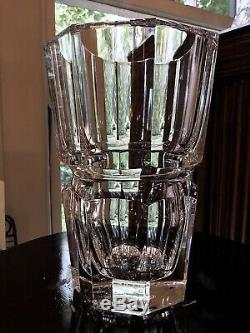 Baccarat France Edith 8 Vase / Handmade in France