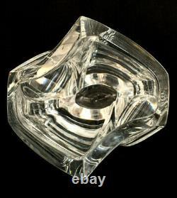 Baccarat Giverny 10 3/4 Crystal Vase Signed RRIGOT