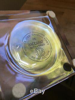 Baccarat Harcourt Marie Louise Pedestal Vase