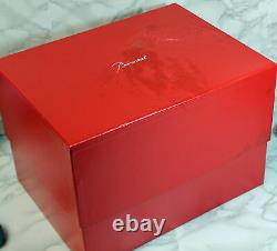 Baccarat Large Baluster Vase Red 12 inches Tall #2802262