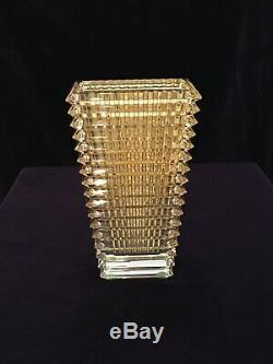 Baccarat Large Crystal Vase
