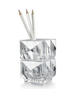Baccarat Louxor Crystal Pencil Holder New
