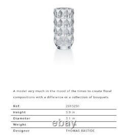 Baccarat Louxor Round Vase Small
