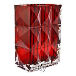 Baccarat Louxor Vase Red