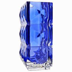 Baccarat Luxor Vase Blue