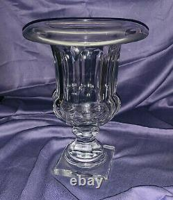 Baccarat Musee Des Cristalleries 1821-1840 Reproduction Crystal Vase