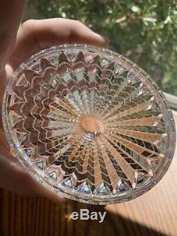 Baccarat Oval Eye Crystal Glass Vase