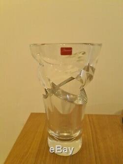 Baccarat Tornado Vase 23cm RRP 3,250£