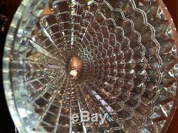 Brand New Authentic Baccarat Crystal Oval Eye Vase, Medium 9.4 10.6 lbs