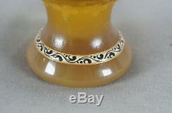 Burgun Schverer & Cie Lorraine Mythologicals Cameo Glass Vase Circa 1896