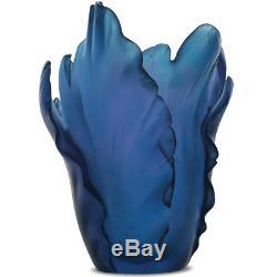 DAUM Tulip Vase 05213-4 NEW IN ORIGNAL BOX