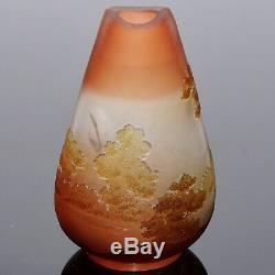 Emile Galle Scenic Cameo Cabinet Vase