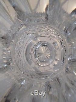 Gorgeous Vintage French crystal large vase Saint Louis Versailles h 25cm 9,9inch