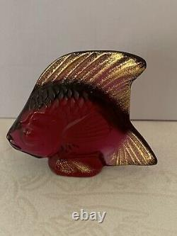 LALIQUE BURLINGTON ARCADE LTD EDT SET OF 3 FISH No 177 of 200. BRAND NEW & BOXED