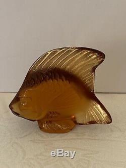 LALIQUE BURLINGTON ARCADE LTD EDT SET OF 3 FISH No 81 of 200. BRAND NEW & BOXED