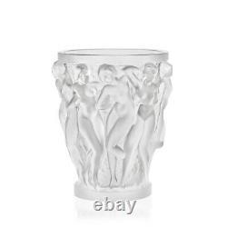 Lalique Bacchantes Vase Clear Crystal 1220000