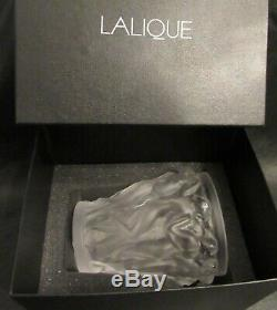 Lalique Bacchantes Vase New in Box with Insert Lalique Code 10547500