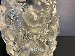 Lalique Clear Bagatelle Vase