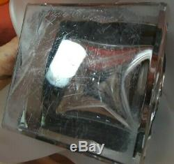 Lalique Clear Crystal 11 Square Vase