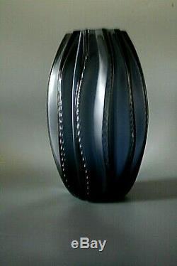 Lalique Crystal Vase Medusa