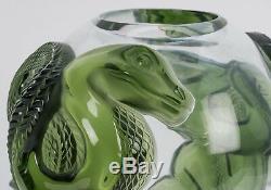 Lalique Dragon Vase Green (JADE COLOR) Limited Edition of 99